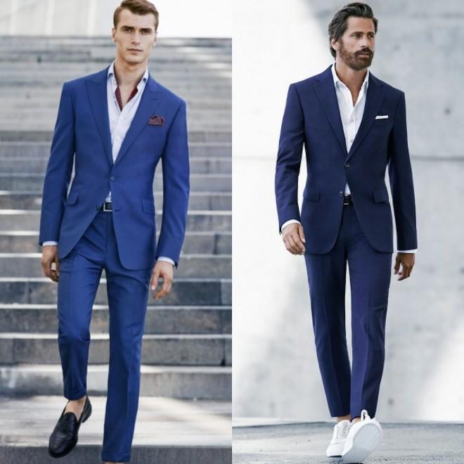 Atual, moderno e elegante, o terno sem gravata é destaque na moda masculina